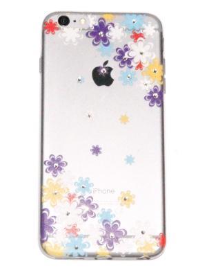 Чехол для iPhone 6 plus Lola. Цвет: фиолетовый, прозрачный, горчичный