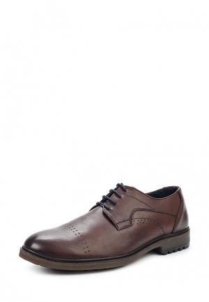 Туфли ITI. Цвет: коричневый