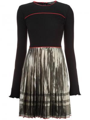 Платье Alma Misha Nonoo. Цвет: чёрный