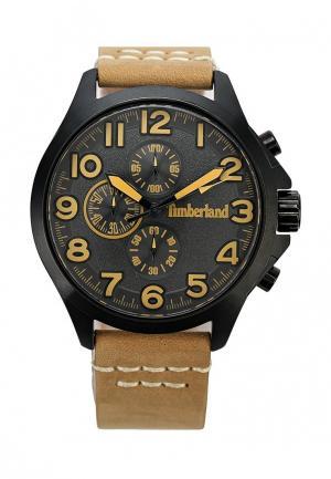 Часы Timberland. Цвет: бежевый