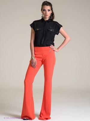 Брюки Versace. Цвет: оранжевый
