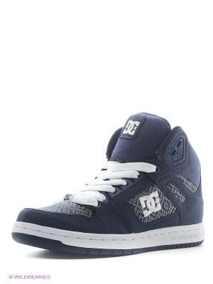 Кроссовки DC Shoes. Цвет: серый, синий