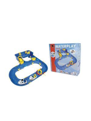 Водный трек Hamburg Big Waterplay, 88*90*20см, 1/3. Цвет: синий