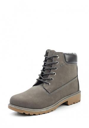 Ботинки Stephan. Цвет: серый