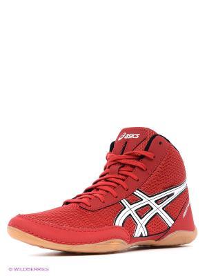 Кроссовки для борьбы Matflex 5 ASICS. Цвет: красный, белый, черный