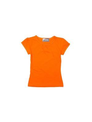 Футболка My School. Цвет: оранжевый