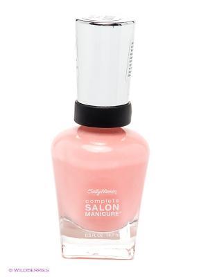 Лак для ногтей Complete Salon Manicure, тон 500 SALLY HANSEN. Цвет: розовый
