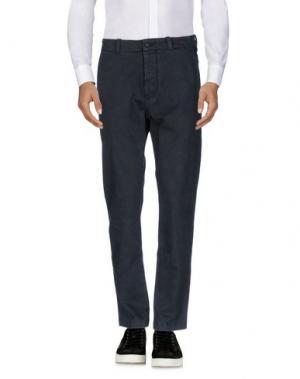 Повседневные брюки NICOLAS & MARK. Цвет: стальной серый