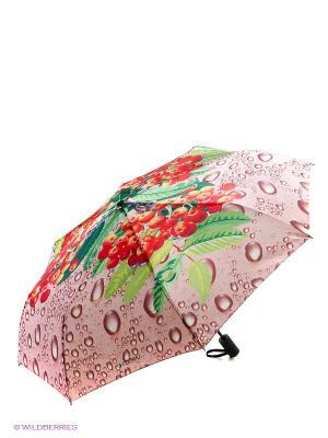 Зонт Flioraj. Цвет: серый, красный, зеленый