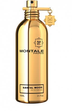 Парфюмерная вода Santal Wood Montale. Цвет: бесцветный