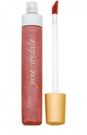 Блеск для губ Холодное мокко Lip Gloss Iced Mocha jane iredale. Цвет: бесцветный