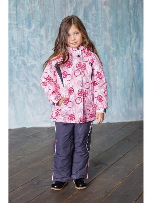 Комплект: куртка, брюки Sweet Berry. Цвет: розовый