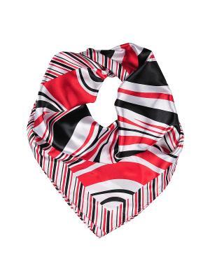 Платок шейный Модные истории. Цвет: красный