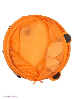 Корзина 38*45см, Медведь Amico. Цвет: оранжевый
