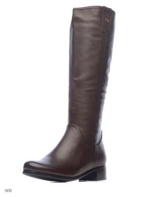 Сапоги LIBELLEN.. Цвет: коричневый