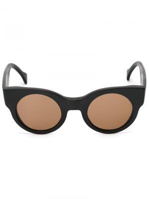 Солнцезащитные очки Earth Saturnino. Цвет: чёрный