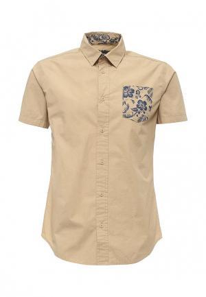 Рубашка Fresh Brand. Цвет: бежевый