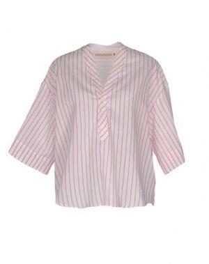 Блузка SHIRTAPORTER. Цвет: белый