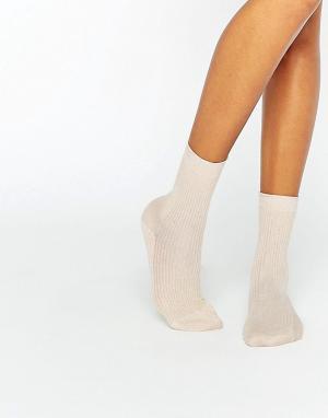 Gipsy Блестящие носки. Цвет: золотой