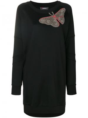 Embellished butterfly dress Jo No Fui. Цвет: чёрный