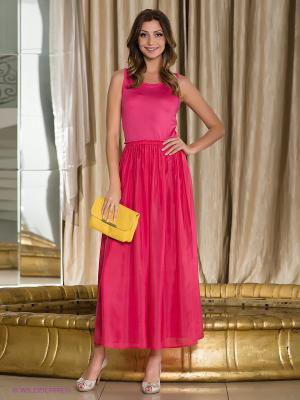 Платье Fairly. Цвет: малиновый
