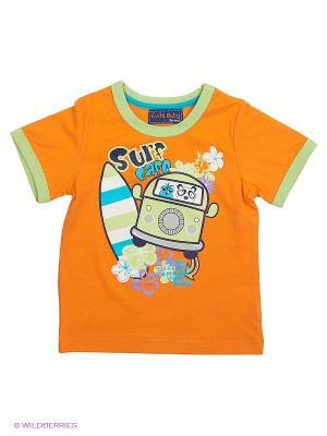 Футболка Evita Baby. Цвет: оранжевый