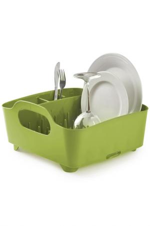 Сушилка для посуды Tub UMBRA. Цвет: зеленый