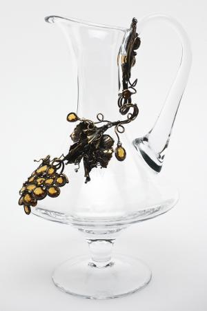 Кувшин для белого вина I Pavoni. Цвет: прозрачный
