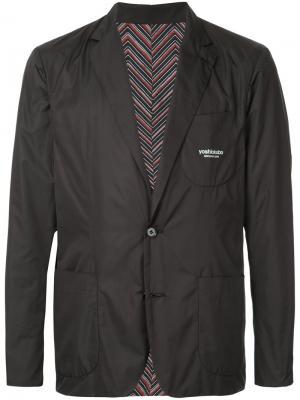 Dry Leaf reversible jacket Yoshiokubo. Цвет: чёрный