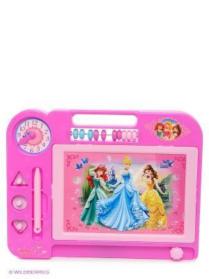 Магнитная доска Дисней Принцессы Играем вместе. Цвет: розовый