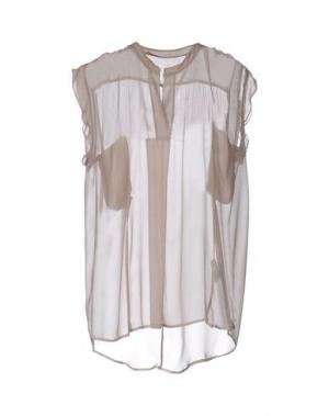 Блузка GOLD CASE SOGNO. Цвет: хаки