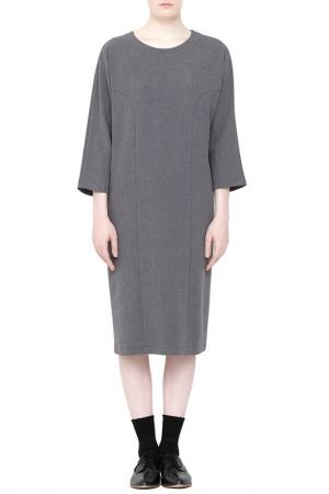 Платье Cyrille Gassiline. Цвет: светло-серый