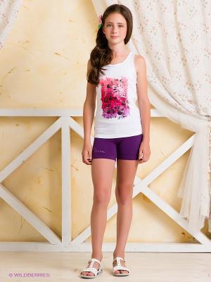 Шорты Arina Ballerina. Цвет: фиолетовый