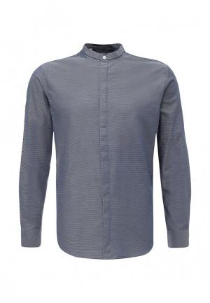 Рубашка Selected Homme. Цвет: синий