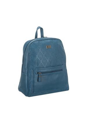 Рюкзак 5685 искусственная кожа Sofiya. Цвет: голубой