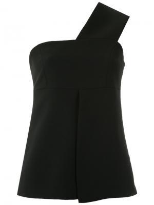 One shoulder blouse Giuliana Romanno. Цвет: none