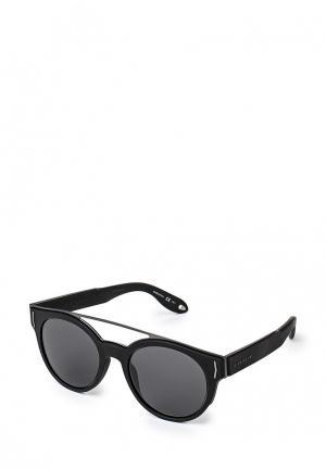 Очки солнцезащитные Givenchy. Цвет: черный