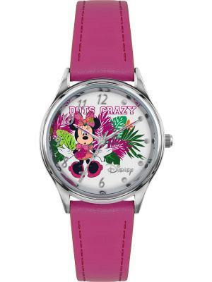 Часы Disney by RFS. Цвет: белый, зеленый, малиновый, серебристый