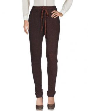 Повседневные брюки DEVOTION. Цвет: какао