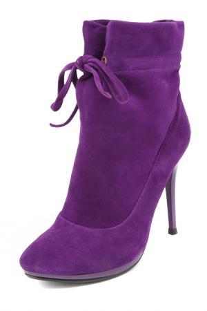 Ботинки NO ONE. Цвет: фиолетовый