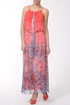 Платье E.LEVY. Цвет: розовый