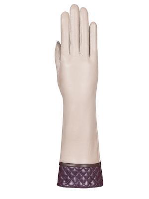 Перчатки Eleganzza. Цвет: лиловый, бежевый, коричневый