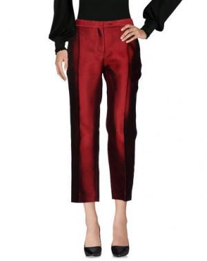 Повседневные брюки CÉLINE. Цвет: кирпично-красный