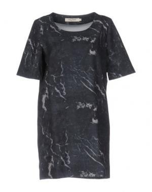 Короткое платье NICE THINGS BY PALOMA S.. Цвет: темно-зеленый
