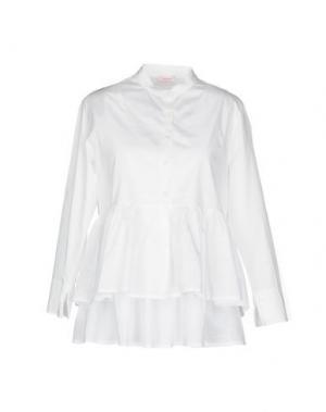 Pубашка ROSSOPURO. Цвет: белый