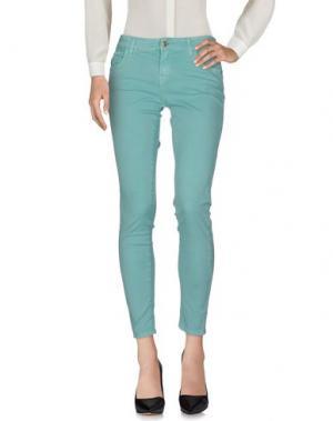 Повседневные брюки G.SEL. Цвет: бирюзовый