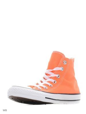 Кеды Chuck Taylor All Star Converse. Цвет: оранжевый