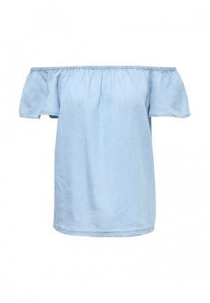 Блуза Top Secret. Цвет: голубой