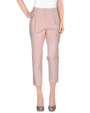 Повседневные брюки ARGONNE. Цвет: светло-розовый