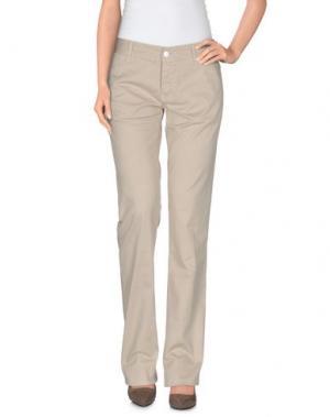 Повседневные брюки 2TWO. Цвет: бежевый